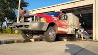 Stolen Fla. brush truck recovered