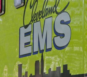 A man is accused of attacking Cleveland EMS providers who were responding to an assault call late Thursday night. (Photo/Cleveland EMS Twitter)