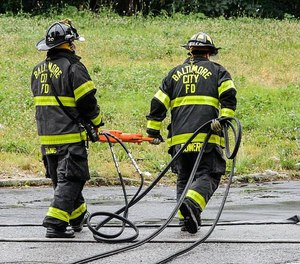 The Baltimore Fire Department is combining firefighters and emergency medics into one position for the next recruiting cycle. (Photo/Baltimore City Fire Department)