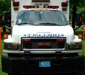 The EMS supervisor did not seek medical attention.