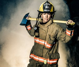 There are 1.16 million firefighters in the United States, butonly 7 percent are women. (Photo/University of St. Thomas)