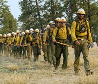 Federal shutdown has halted wildland firefighter training, other wildfire prep
