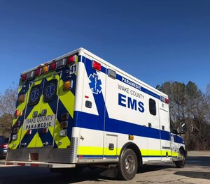 The paramedic was released from the hospital by around11 p.m. Saturday night, saidLeah Holdren, a spokeswoman for the county.