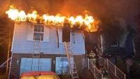 Md. FF burned during 2-alarm house fire