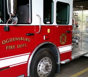 Ogdensburg Firefighters IAFF Local 1799 has filed a charge against the city over a letter from City Manager and Fire Chief Stephen P. Jellie instructing firefighters not to speak to the media about official city business. (Photo/Ogdensburg Professional Firefighters Local 1799 Facebook)