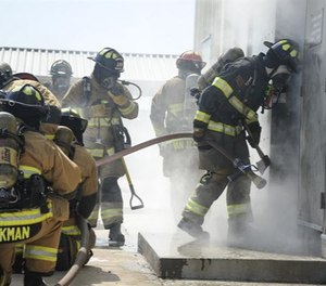 First responders can encounter radioactive materials in any number of emergency response scenarios. (Photo/DoD)