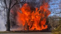 2 NJ firefighters injured battling house fire