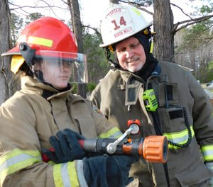 Watching young people transform into adults by passing on the knowledge and traditions of the fire service is well worth the time.