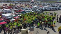 """Photo of the Week: 300+ Pa. first responders raise awareness for new """"Move Over"""" law"""