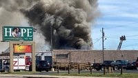 2 NY firefighters injured battling 3-alarm blaze at bowling alley
