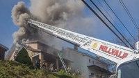 2 Pa. FFs injured battling house fire