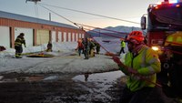Colo. FF rappels down 30-foot sinkhole to rescue man
