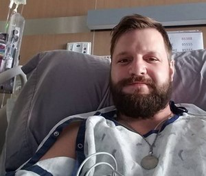 Berthoud Fire Protection District fire investigator Josh Macdonald was injured in a March 2016 house fire. (Photo/GoFundMe)