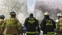 16 FDNY FFs injured in 8-alarm apartment building blaze