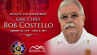 Ariz. fire chief dies from cardiac arrest due to COVID-19 complications