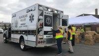 PA。医院为EMS机构提供PPE意外收获