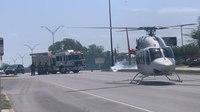 Texas firefighter, resident seriously injured in garage blaze