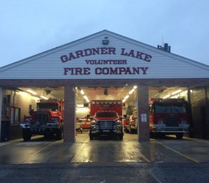 The Gardner Lake Volunteer Fire Company is suing the town of Salem for $29,000 it says it needs to run the town's only ambulance service after two paid firefighters were barred from volunteering as EMTs for the company. (Photo/Gardner Lake Volunteer Fire Company Facebook)