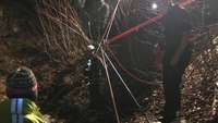 NH, Vt. rescuers save man who fell 150 feet down abandoned mine shaft