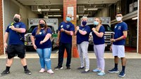 Photo of the Week: NJ EMS providers lead blood drive by example
