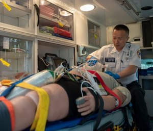 While it is critical to assign one EMS crew member the full-time duty of monitoring the patient's airway and breathing status, it is also important that the entire crew works together to support that role.