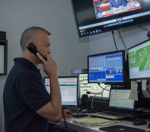 Want to know about local weather conditions or when a closed road will be reopen? Maybe don't call or text 911. (Photo/DoD)