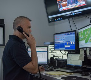 Applicants for a dispatcher role must have a GED or high school diploma to be considered. (Photo/U.S. Air Force by Airman Shelby Pruitt)