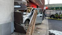 Truck crashes into Md. EMS station, causing 'extensive' damage