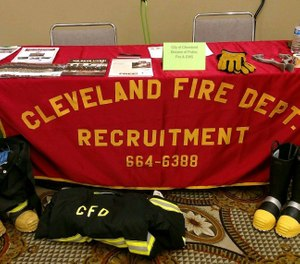 Cleveland officials have raised concerns about the low proportion of minority first responders at the fire, EMS and police departments in the city, where a majority of the general population are minorities. (Photo/City of Cleveland Public Safety Recruitment Facebook)