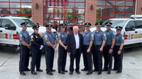 Photo of the Week: Del.'s 1st-ever paramedic attends opening of new namesake station
