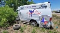 Texas trooper injured in crash with stolen ambulance