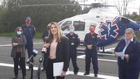 NY bill would allow air ambulances to carry blood