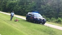Ga. LEO finishes mowing lawn for man who suffered fall