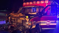 Crewmembers hurt in head-on Pa. ambulance crash