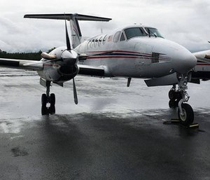 A search is underway for a missing air ambulance flight, according to the U.S. Coast Guard.