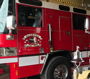 An Alameda firefighter has tested positive for COVID-19, officials said Wednesday. The firefighter is being quarantined outside Alameda County.