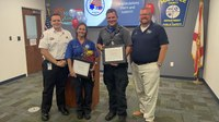 Fla. county's Paramedic of the Year describes transporting county's 1st COVID-19 patient