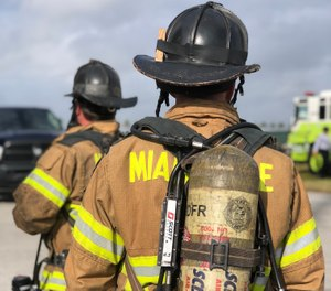 Potential firefighter candidates go through a long list of tests and certification checks before even being considered for inclusion. (Photo/U.S. Army/Sgt. 1st Class Javier Orona)