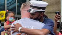 Video: Injured New Haven, Conn., fire Lt. released from hospital 2 weeks after fatal blaze