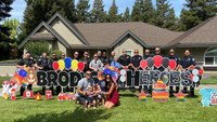 Calif. first responders celebrated by family of boy who nearly drowned