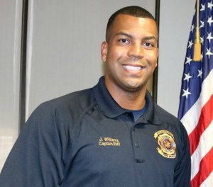 Capt. James Williams, who has faced criticism for the way he handled a fatal fire in North Lakeland on Nov. 23, resigned on Tuesday. (Photo/Polk County Fire Rescue)