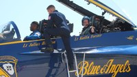 Wis. FF honored by Blue Angels with trip to the sky