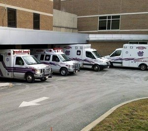 Fayette and Murrysville EMS officials were asked to deploy their bariatric ambulance units.