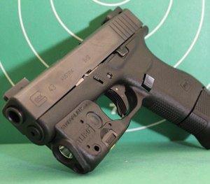 The single stack Glock 43 is a wonderful blend of concealability and performance. (Sean Curtis Image)