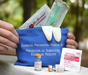 New York will now only hand out free naloxone kits to those most likely to find an overdose victim.