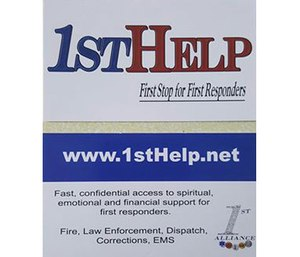 1st Help website connects emergency responders in crisis with life-saving resources
