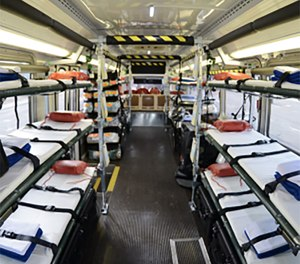 Getting other community partners involved is critical because mass casualty incidents quickly deplete the pool of ambulance vehicles available. (image/ First Line Technology)