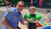 Pittsburgh EMS promotes water safety with free floaties for kids