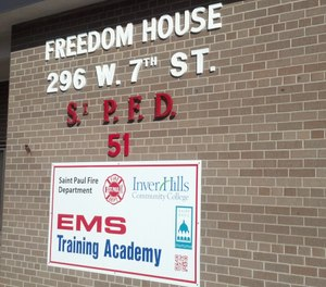 The new Freedom House station in St. Paul, Minn. is continuing the inspiring efforts of the original Freedom House to create EMS employment opportunities for low-income youth. (Photo/Greg Friese)