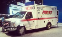 High-tech pediatric ambulance debuts at auto show